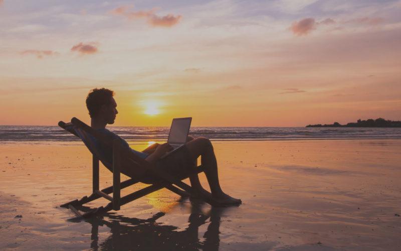 Nómadas digitales, el estilo de vida que se hace posible gracias a las facilidades de las nuevas tecnologías